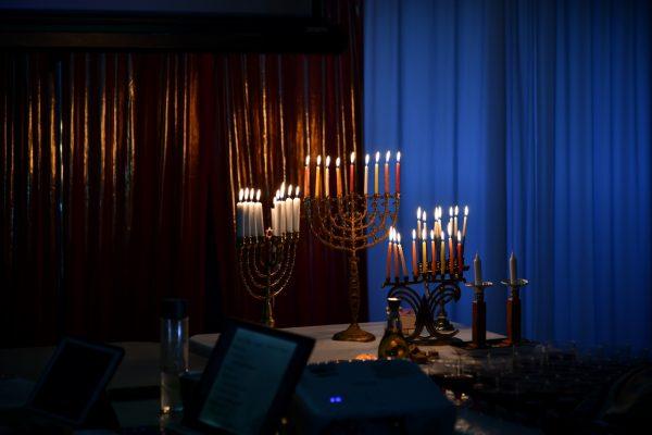 Chanukah Candles backdrop